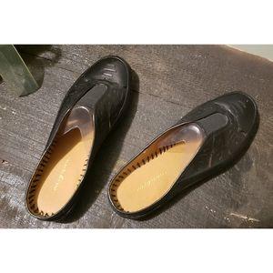 Easy Spirit Mules Clogs Flats Slides 8 Wide Loafer